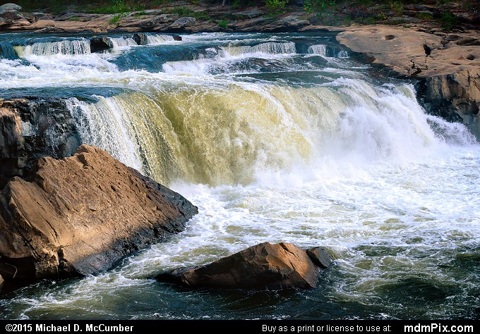 Ohiopyle Falls (Ohiopyle Falls Picture 043 - October 8, 2015 from Ohiopyle State Park, Pennsylvania)