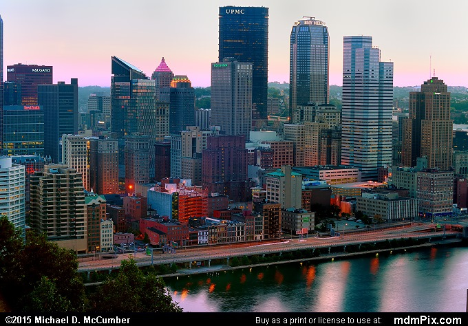 Pittsburgh Skyline (Pittsburgh Skyline Picture 007 - October 10, 2015 from Pittsburgh, Pennsylvania)