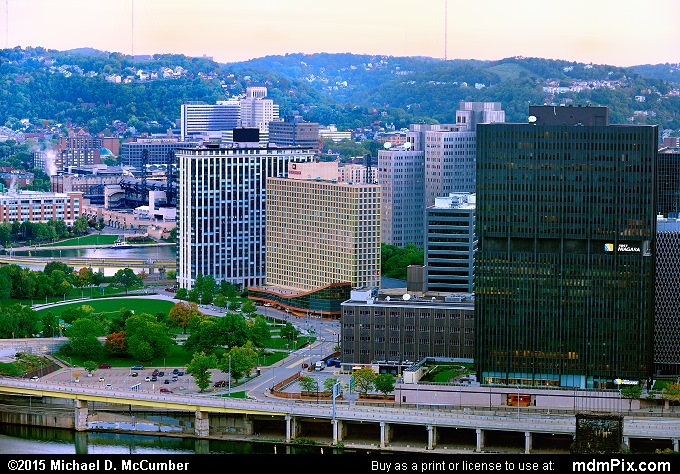 Pittsburgh Skyline (Pittsburgh Skyline Picture 016 - October 10, 2015 from Pittsburgh, Pennsylvania)
