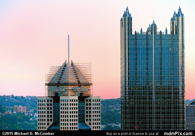 Pittsburgh Skyline (Pittsburgh Skyline Picture 020 - October 10, 2015 from Pittsburgh, Pennsylvania)