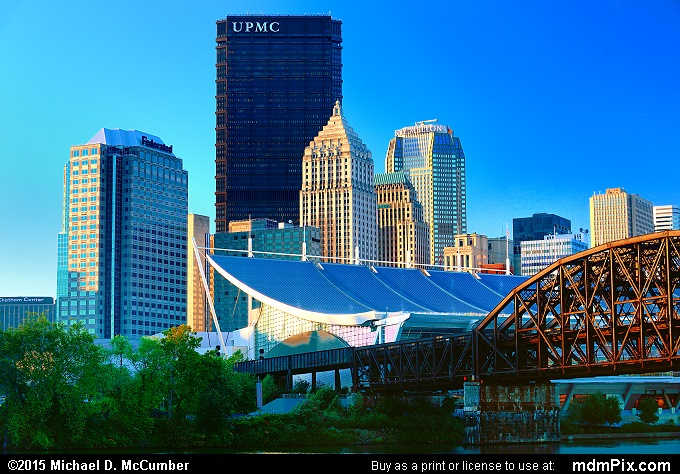 Pittsburgh Skyline (Pittsburgh Skyline Picture 024 - October 10, 2015 from Pittsburgh, Pennsylvania)