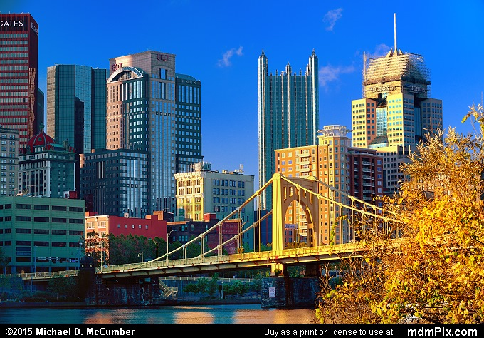 Pittsburgh Skyline (Pittsburgh Skyline Picture 036 - October 10, 2015 from Pittsburgh, Pennsylvania)