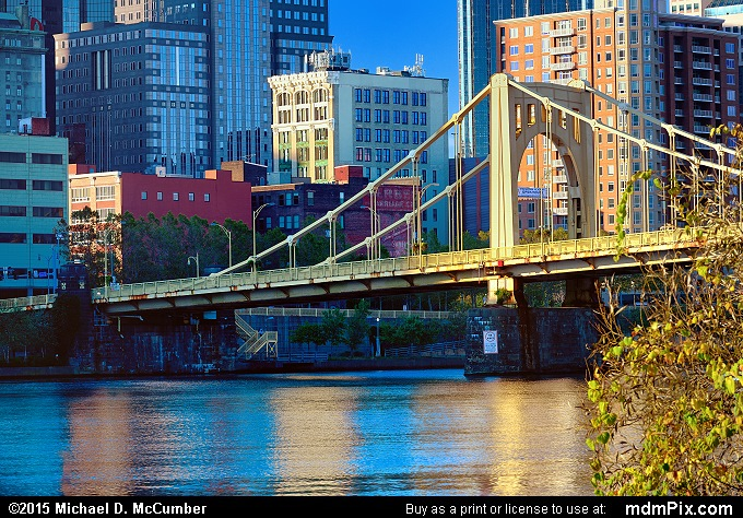 Rachel Carson Bridge (Rachel Carson Bridge Picture 037 - October 10, 2015 from Pittsburgh, Pennsylvania)