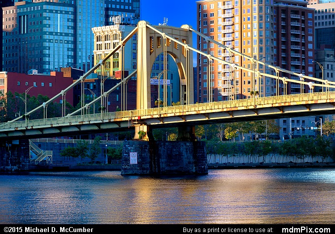 Rachel Carson Bridge (Rachel Carson Bridge Picture 038 - October 10, 2015 from Pittsburgh, Pennsylvania)