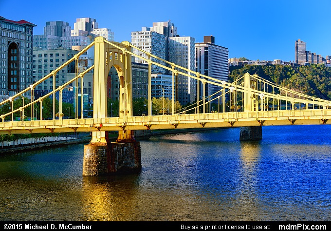 Andy Warhol Bridge (Andy Warhol Bridge Picture 046 - October 10, 2015 from Pittsburgh, Pennsylvania)