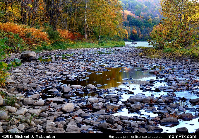 River Rock (River Rock Picture 001 - October 21, 2015 from Dunbar Township, Pennsylvania)