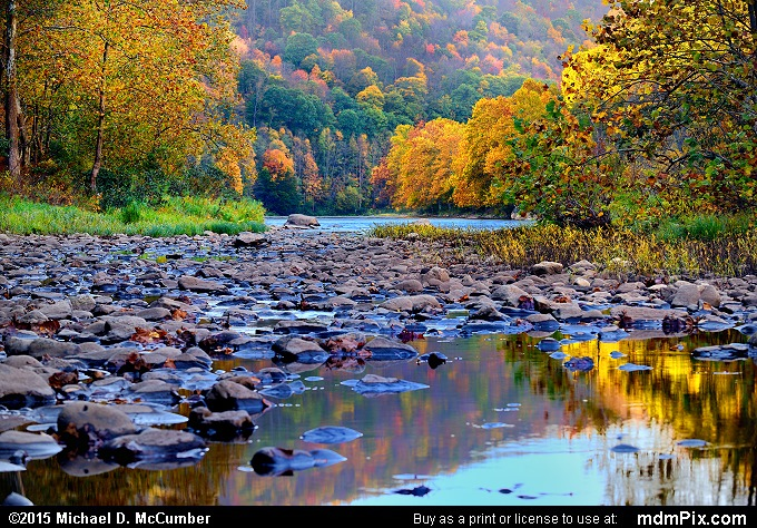 Youghiogheny River (Youghiogheny River Picture 003 - October 21, 2015 from Dunbar Township, Pennsylvania)