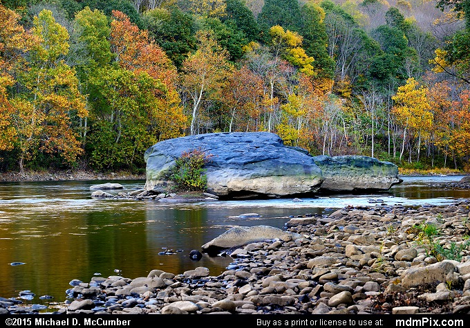 Youghiogheny River (Youghiogheny River Picture 006 - October 21, 2015 from Dunbar Township, Pennsylvania)