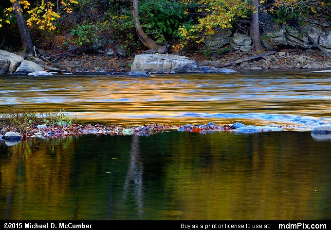 Youghiogheny River (Youghiogheny River Picture 008 - October 21, 2015 from Dunbar Township, Pennsylvania)