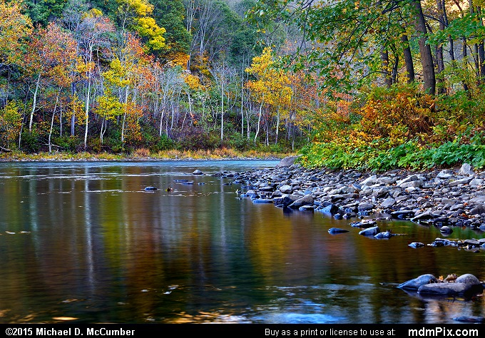 Youghiogheny River (Youghiogheny River Picture 015 - October 21, 2015 from Dunbar Township, Pennsylvania)