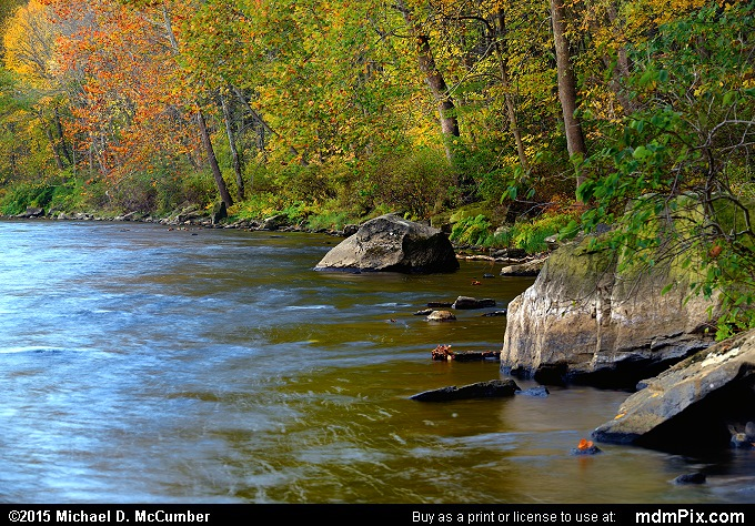 Youghiogheny River (Youghiogheny River Picture 022 - October 21, 2015 from Dunbar Township, Pennsylvania)