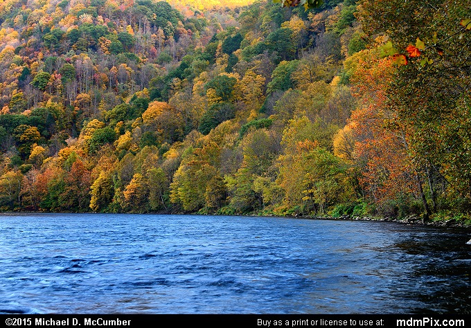 Youghiogheny River (Youghiogheny River Picture 024 - October 21, 2015 from Dunbar Township, Pennsylvania)