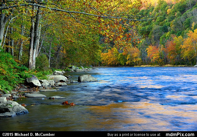 Youghiogheny Gorge (Youghiogheny Gorge Picture 026 - October 21, 2015 from Dunbar Township, Pennsylvania)