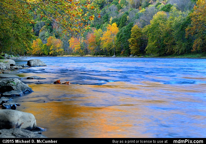 Youghiogheny River (Youghiogheny River Picture 029 - October 21, 2015 from Dunbar Township, Pennsylvania)