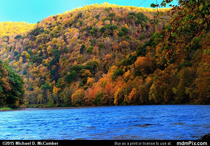 Youghiogheny River (Youghiogheny River Picture 030 - October 21, 2015 from Dunbar Township, Pennsylvania)