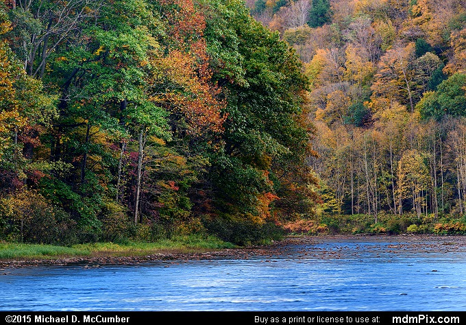 Youghiogheny Gorge (Youghiogheny Gorge Picture 032 - October 21, 2015 from Dunbar Township, Pennsylvania)