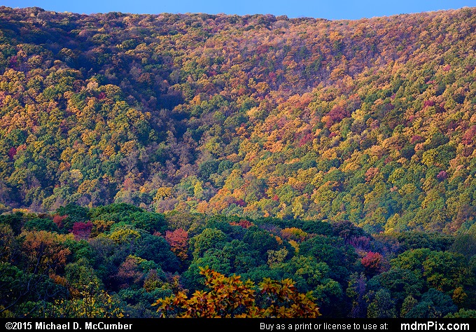 Mount Summit Scenic Overlook (Mount Summit Scenic Overlook Picture 002 - October 22, 2015 from Hopwood, Pennsylvania)