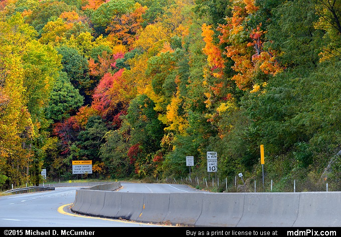 U.S. Route 40 National Road (U.S. Route 40 National Road Picture 012 - October 22, 2015 from Hopwood, Pennsylvania)