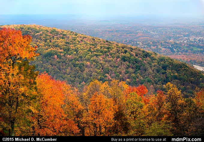 Mount Summit Scenic Overlook (Mount Summit Scenic Overlook Picture 015 - October 22, 2015 from Hopwood, Pennsylvania)