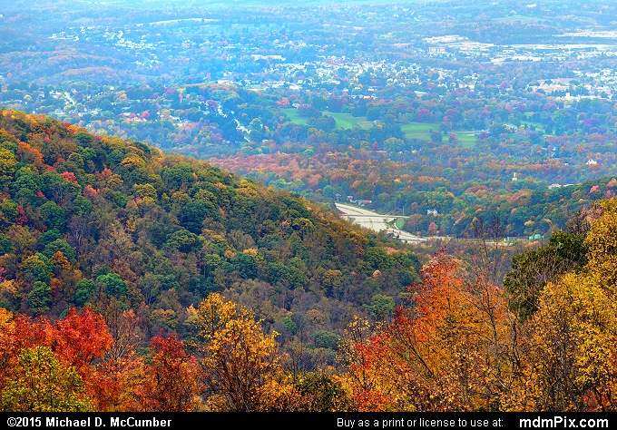 Mount Summit Scenic Overlook (Mount Summit Scenic Overlook Picture 016 - October 22, 2015 from Hopwood, Pennsylvania)