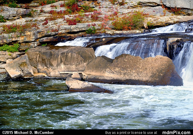 Ohiopyle Falls (Ohiopyle Falls Picture 022 - October 22, 2015 from Ohiopyle State Park, Pennsylvania)