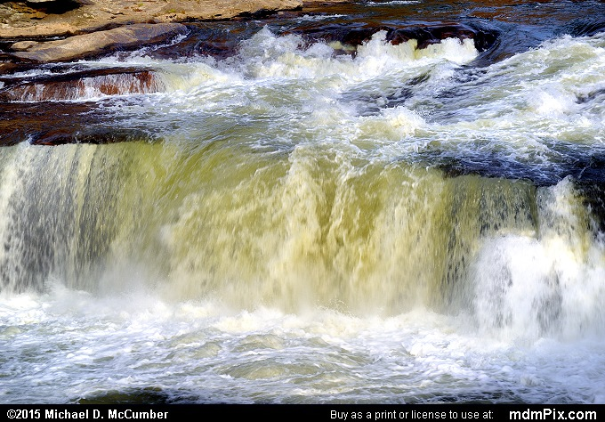 Ohiopyle Falls (Ohiopyle Falls Picture 024 - October 22, 2015 from Ohiopyle State Park, Pennsylvania)
