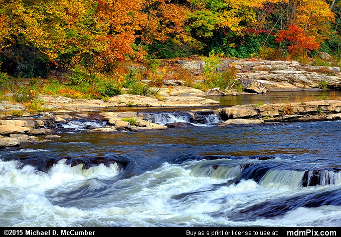 Ferncliff Peninsula (Ferncliff Peninsula Picture 031 - October 22, 2015 from Ohiopyle State Park, Pennsylvania)
