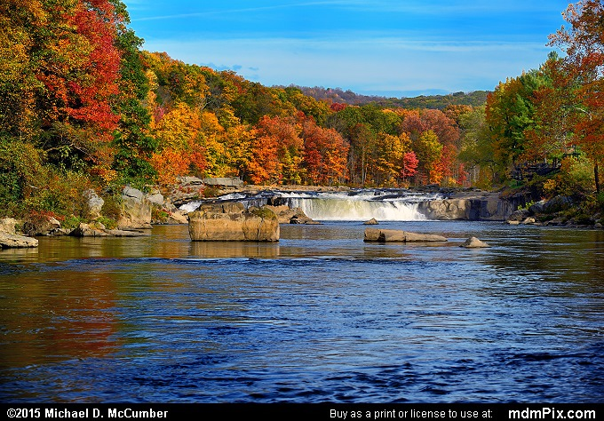 Ohiopyle Falls (Ohiopyle Falls Picture 033 - October 22, 2015 from Ohiopyle State Park, Pennsylvania)