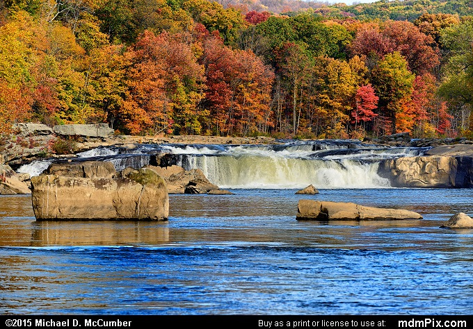 Ohiopyle Falls (Ohiopyle Falls Picture 034 - October 22, 2015 from Ohiopyle State Park, Pennsylvania)