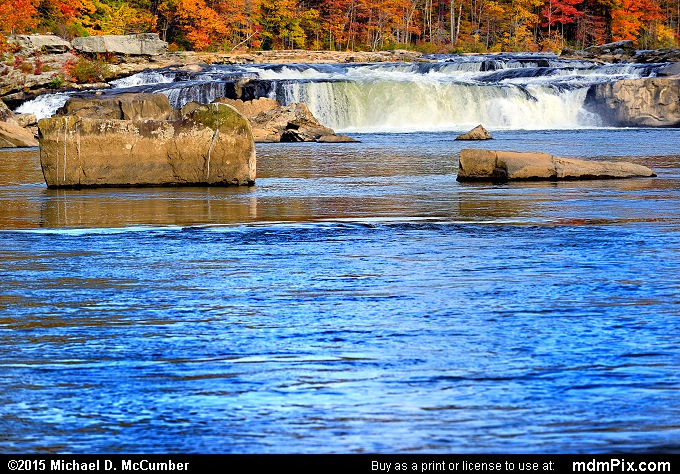 Ohiopyle Falls (Ohiopyle Falls Picture 036 - October 22, 2015 from Ohiopyle State Park, Pennsylvania)