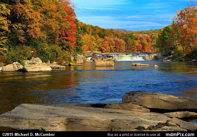 Ohiopyle Falls (Ohiopyle Falls Picture 044 - October 22, 2015 from Ohiopyle State Park, Pennsylvania)