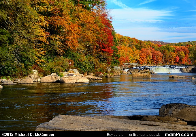 Ferncliff Peninsula (Ferncliff Peninsula Picture 045 - October 22, 2015 from Ohiopyle State Park, Pennsylvania)