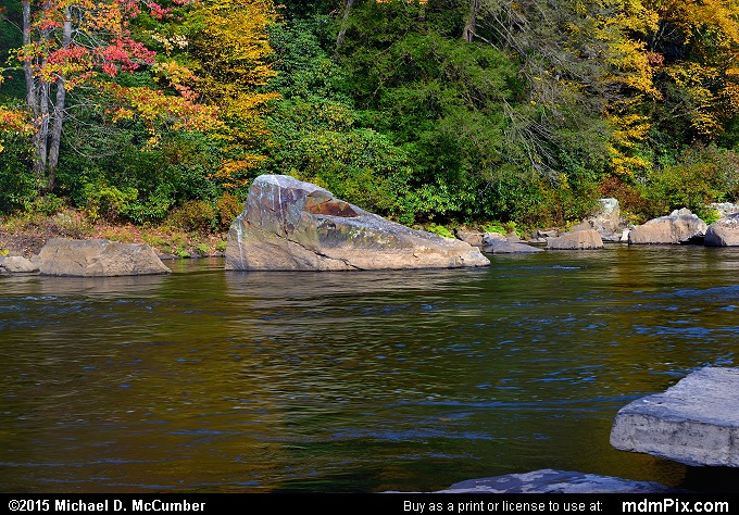 Youghiogheny River (Youghiogheny River Picture 046 - October 22, 2015 from Ohiopyle State Park, Pennsylvania)