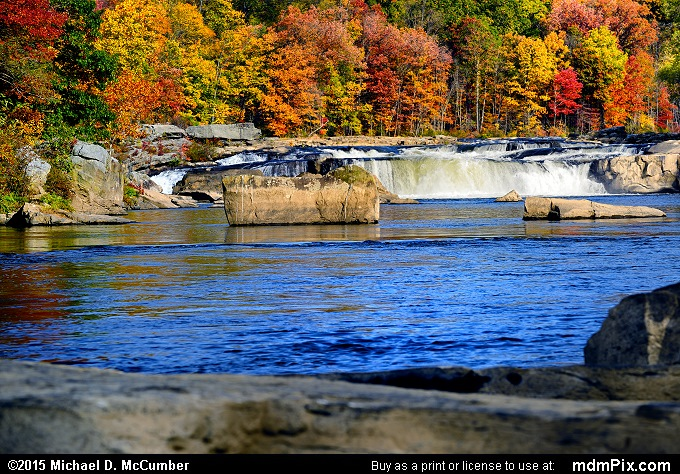 Ohiopyle Falls (Ohiopyle Falls Picture 047 - October 22, 2015 from Ohiopyle State Park, Pennsylvania)