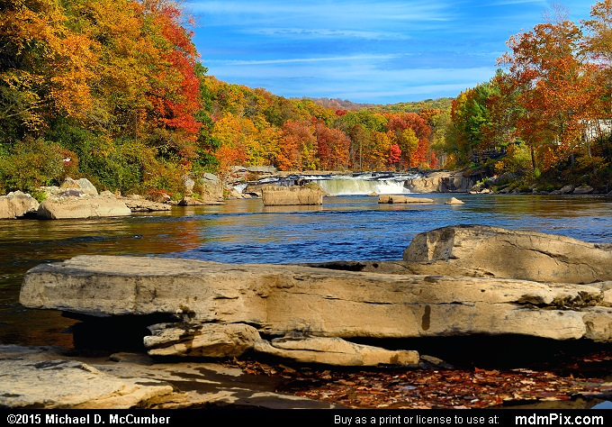 Ohiopyle Falls (Ohiopyle Falls Picture 048 - October 22, 2015 from Ohiopyle State Park, Pennsylvania)