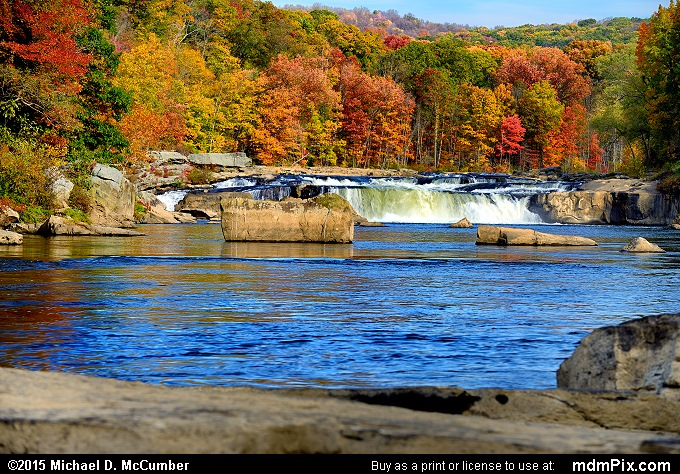 Ohiopyle Falls (Ohiopyle Falls Picture 054 - October 22, 2015 from Ohiopyle State Park, Pennsylvania)
