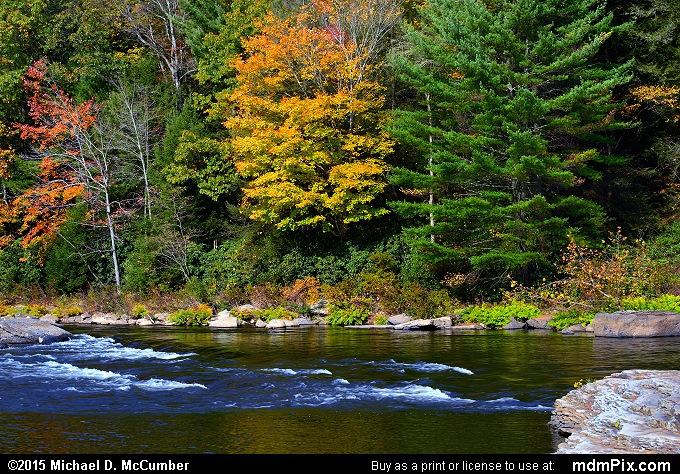 Ferncliff Peninsula (Ferncliff Peninsula Picture 058 - October 22, 2015 from Ohiopyle State Park, Pennsylvania)
