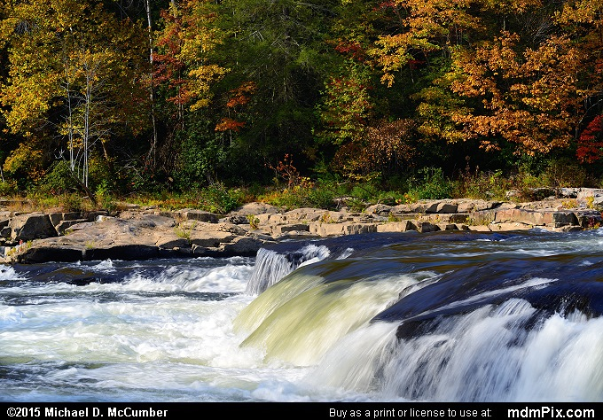 Youghiogheny River (Youghiogheny River Picture 063 - October 22, 2015 from Ohiopyle State Park, Pennsylvania)