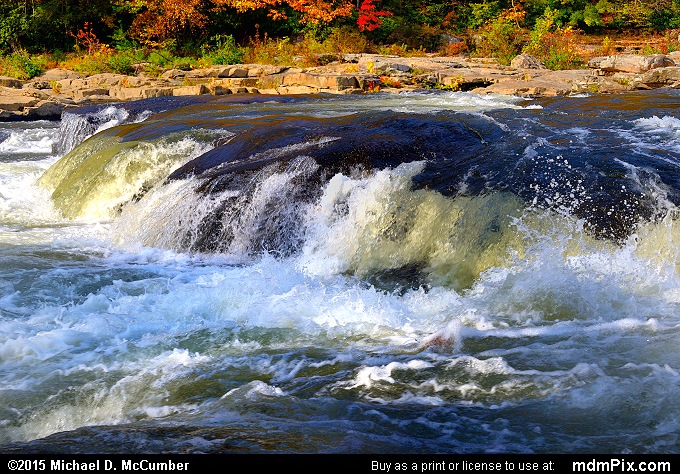 Youghiogheny River (Youghiogheny River Picture 064 - October 22, 2015 from Ohiopyle State Park, Pennsylvania)