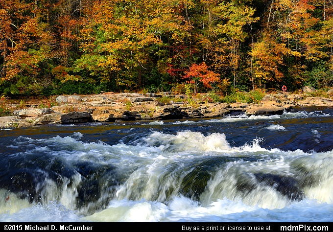 Ferncliff Peninsula (Ferncliff Peninsula Picture 065 - October 22, 2015 from Ohiopyle State Park, Pennsylvania)