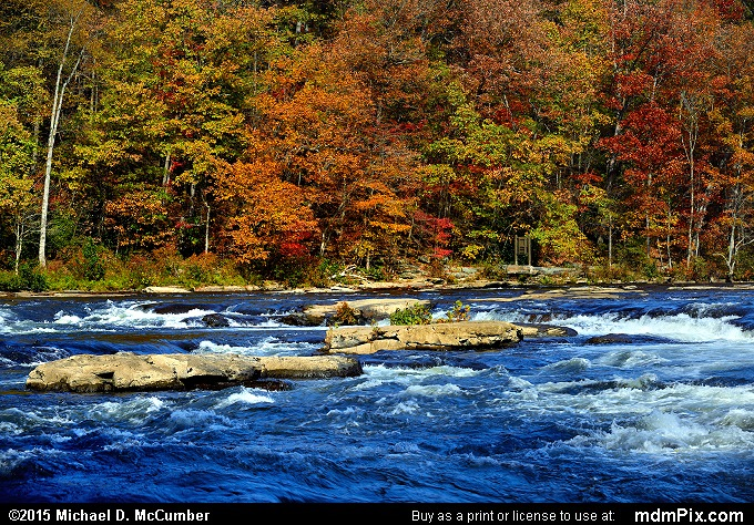 Ferncliff Peninsula (Ferncliff Peninsula Picture 066 - October 22, 2015 from Ohiopyle State Park, Pennsylvania)
