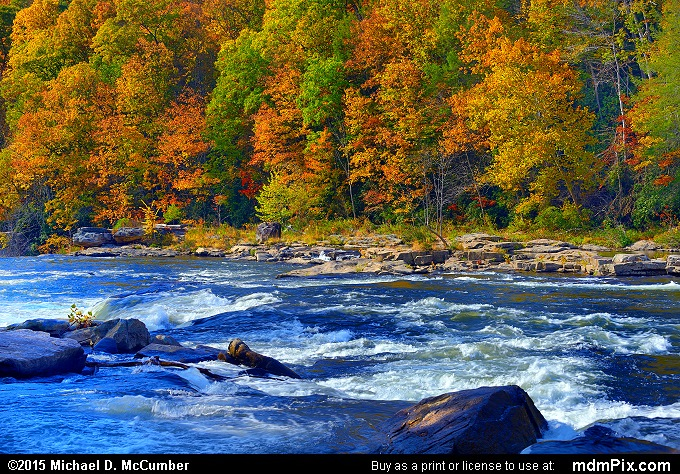 Ferncliff Peninsula (Ferncliff Peninsula Picture 071 - October 22, 2015 from Ohiopyle State Park, Pennsylvania)