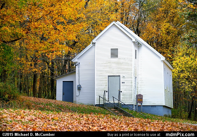 Sugarloaf Church (Sugarloaf Church Picture 072 - October 22, 2015 from Ohiopyle State Park, Pennsylvania)