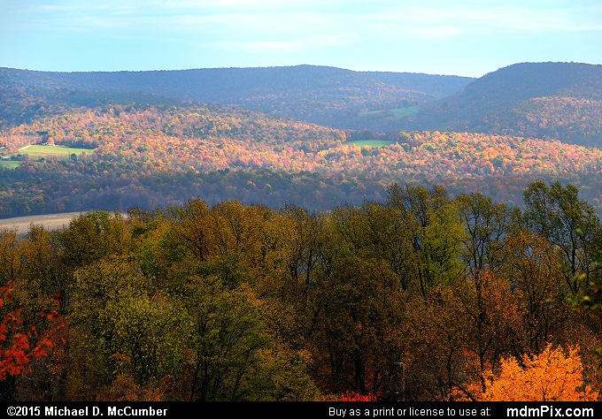Laurel Ridge (Laurel Ridge Picture 084 - October 22, 2015 from Springfield Township (Fayette County), Pennsylvania)