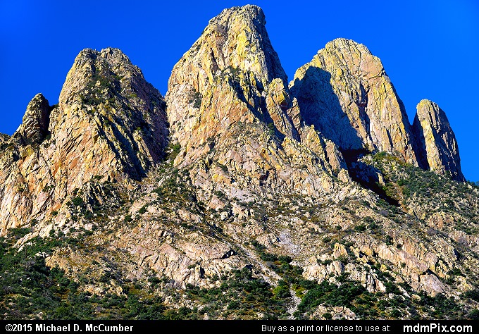 The Rabbit Ears Peak of the Organ Mountains