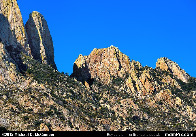 Organ Mountains (Organ Mountains Picture 041 - October 26, 2015 from Organ Mountains-Desert Peaks National Monument, New Mexico)