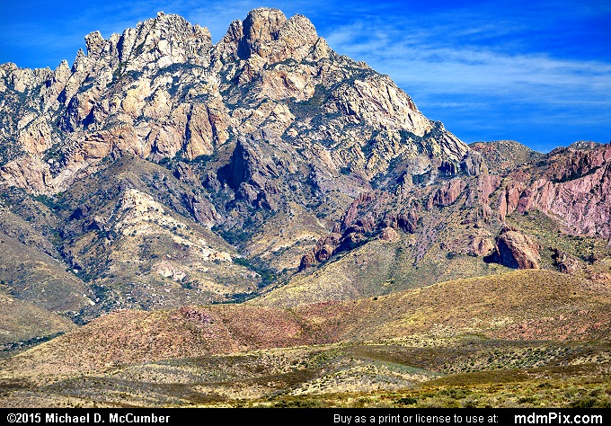 Organ Needle (Organ Needle Picture 006 - October 27, 2015 from Organ Mountains-Desert Peaks National Monument, New Mexico)
