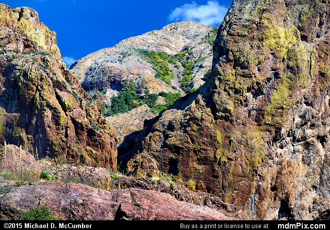 Baldy Peak (Baldy Peak Picture 012 - October 27, 2015 from Organ Mountains-Desert Peaks National Monument, New Mexico)