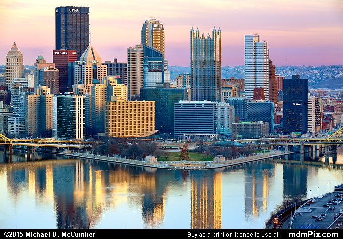Pittsburgh Skyline (Pittsburgh Skyline Picture 001 - December 16, 2015 from Pittsburgh, Pennsylvania)