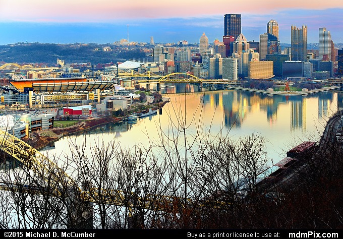 Pittsburgh Skyline (Pittsburgh Skyline Picture 002 - December 16, 2015 from Pittsburgh, Pennsylvania)